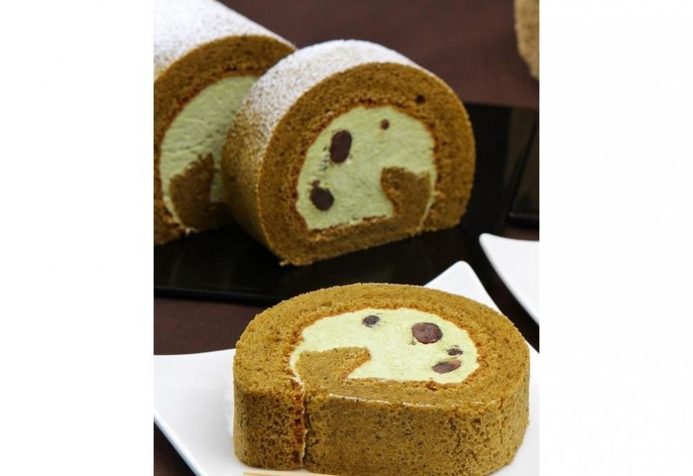 思わずお取り寄せしたくなるおやつにおすすめケーキ③川添茶ロール/福菱