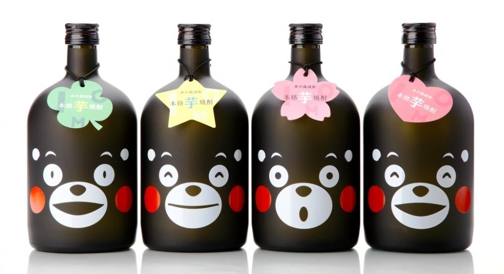 希少なくまモンボトルの芋焼酎。最高品質の焼酎を造る熊本の酒造が「本格芋焼酎 蔵八」をお届け