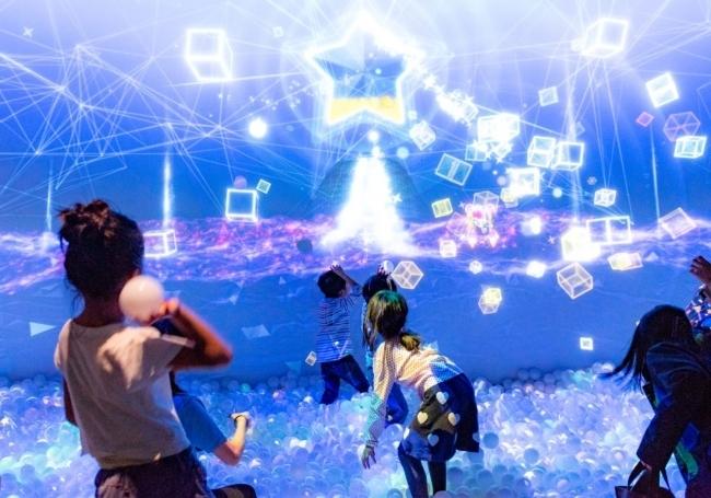 デジタル技術を駆使したアトラクションが揃う「リトルプラネット」で遊びつくそう
