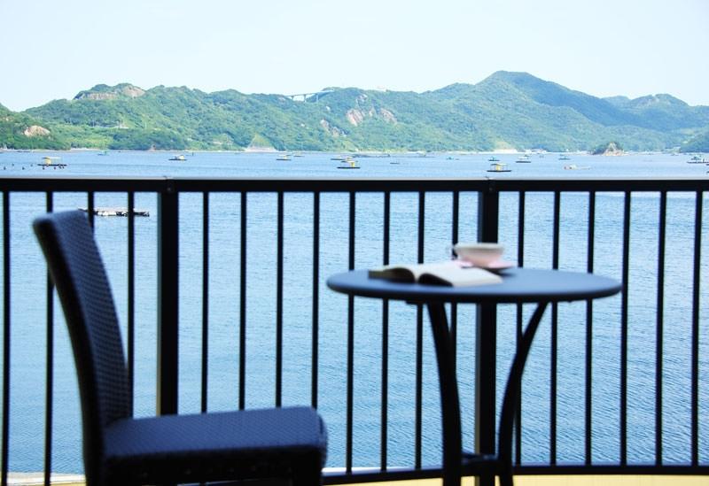 穏やかな海と緑豊かな風景で心ほぐれる「イセヤリゾート鳴門」