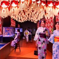 ビアホールも登場!すみだ水族館で「東京金魚ワンダーランド2018」開催