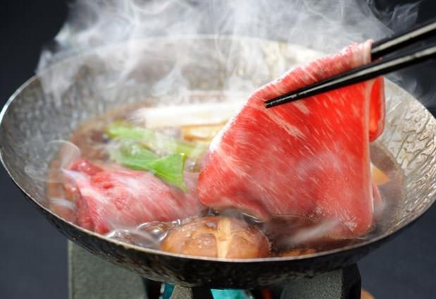 北海道の旬の食材を使用した夕食