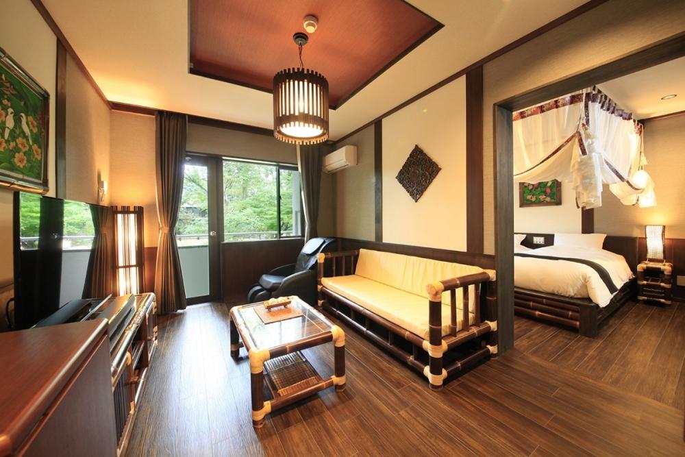 バリ島か日本、選べる客室
