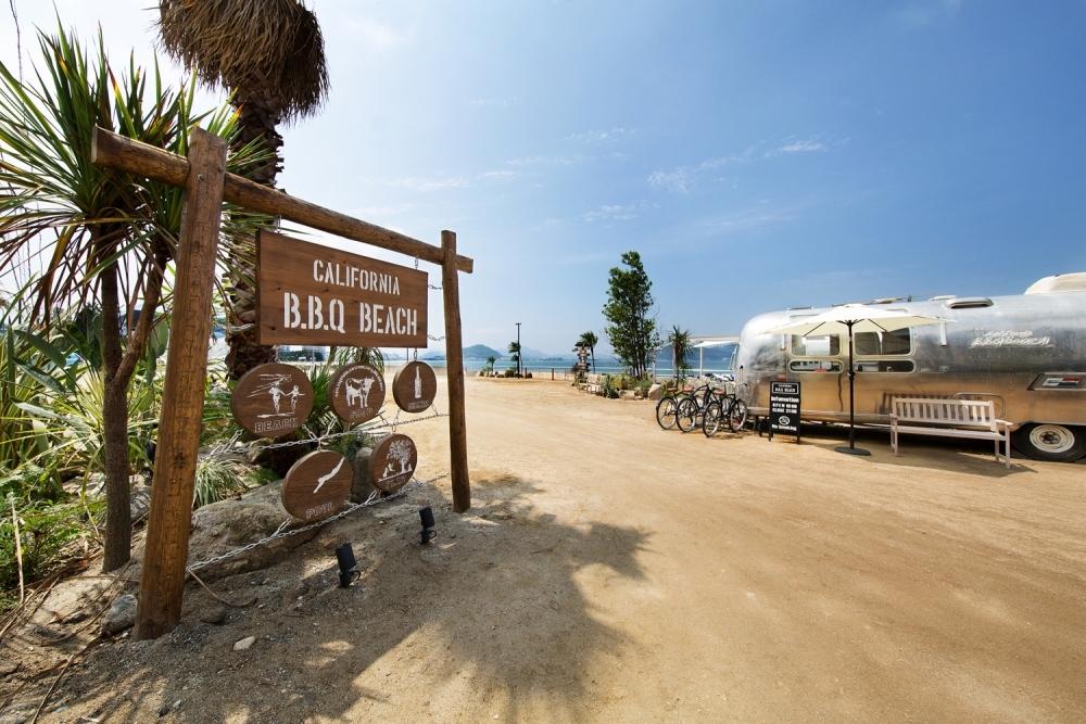 """福岡・糸島のビーチで""""カリフォルニアンBBQ"""""""