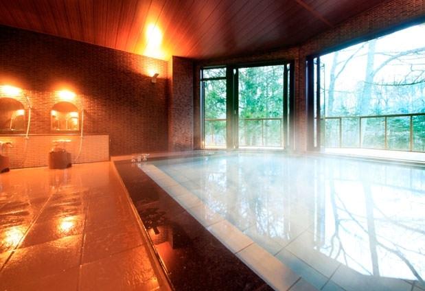 リラックスできる入浴施設
