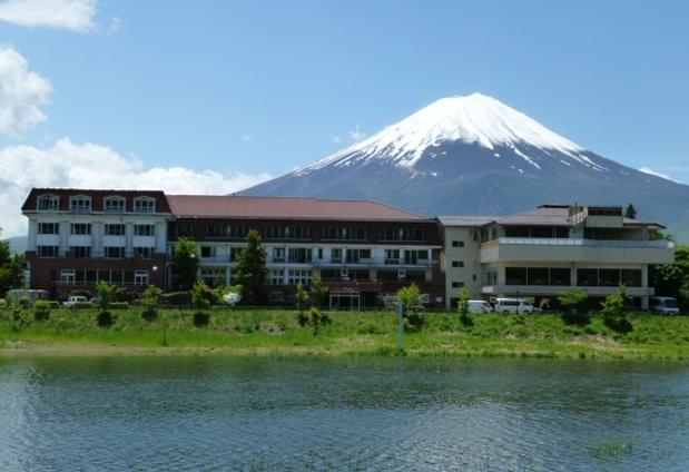 河口湖温泉「レイクランドホテル みづのさと」の魅力➂富士山展望台