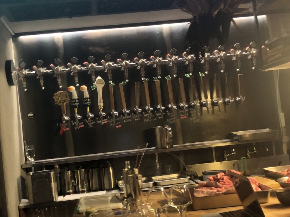 クラフトビールの「タップ」とは?