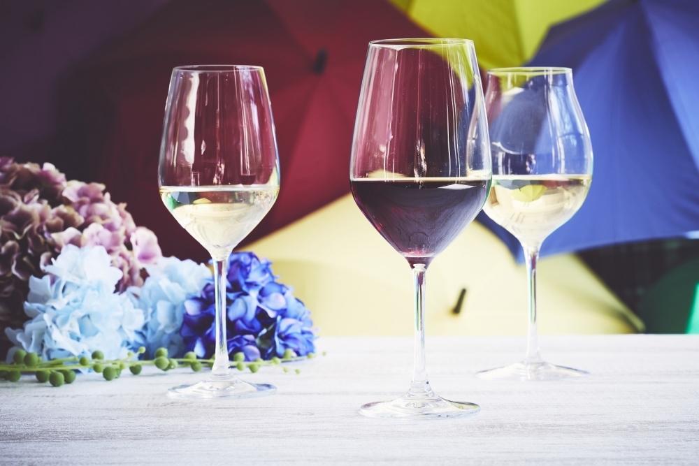 雨とワインの関係