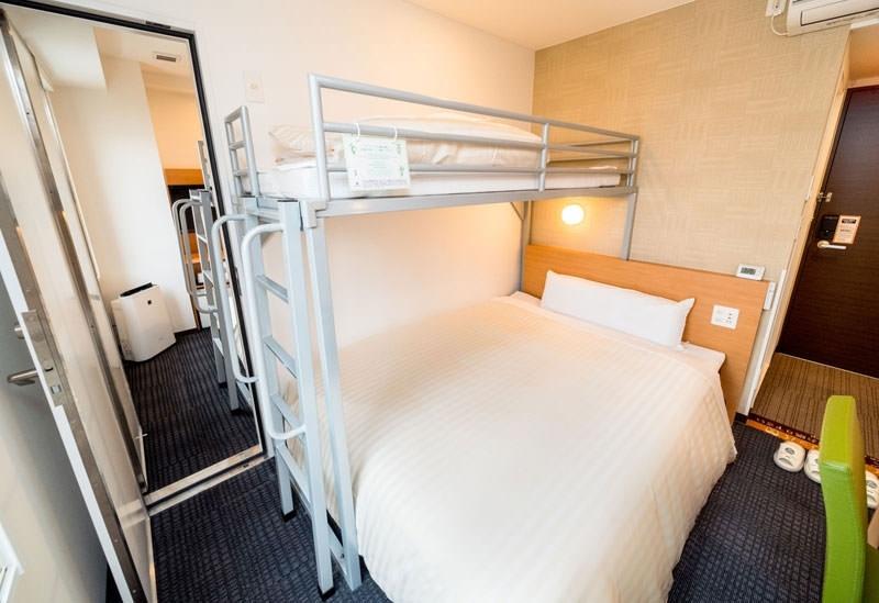快適な客室、選べる8種類の枕