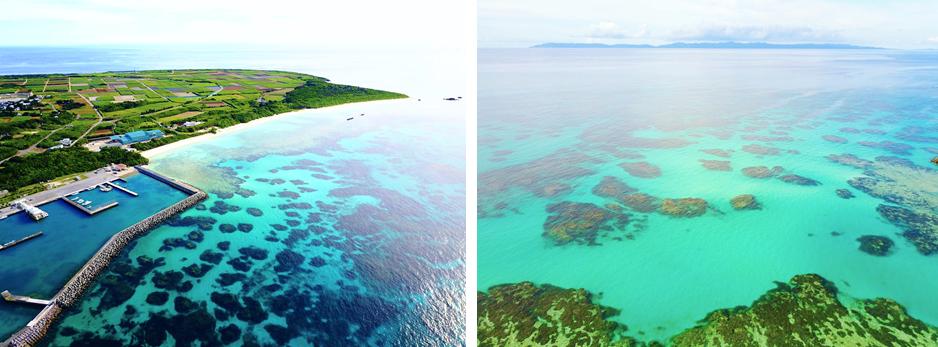 泳ぐならニシ浜へ。ウソみたいにキラキラ輝く水色の海!