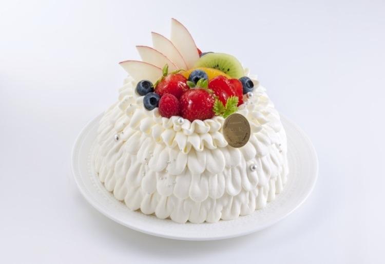 美しいバースデーケーキ「ドレス」