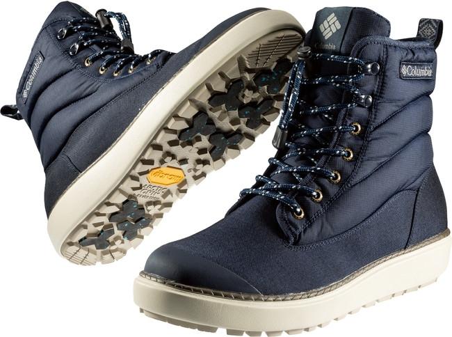 氷の上でも滑りにくいコロンビアの新作ブーツ