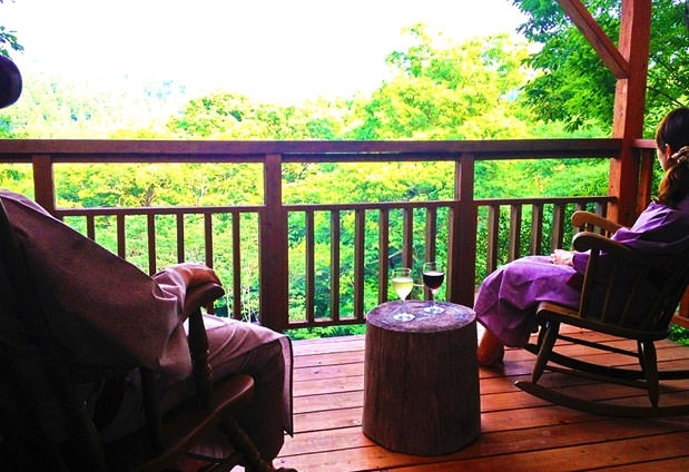 九州で選んだおすすめの離れの宿②天河山荘