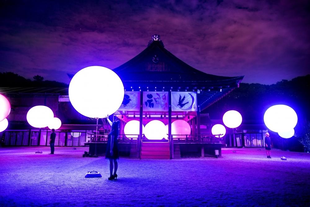 チームラボによる「下鴨神社」のイベントが今年も開催。世界遺産でアートを体感その3