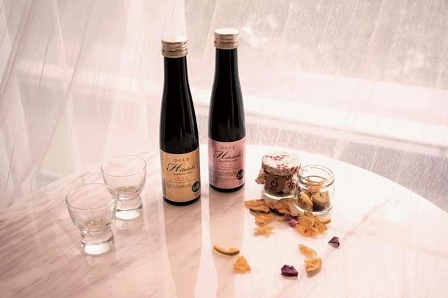 美酒のお供には、地元産のドライフルーツを。