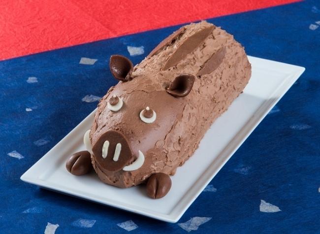 愛嬌も迫力も!「亥の一番ロールケーキ」