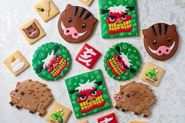 お土産にも福を込めて「干支クッキー(亥)」