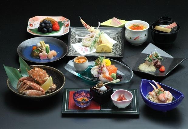 北海道の食材、旬の素材を使った料理が目白押し