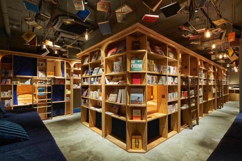 泊まれる本屋「BOOK AND BED TOKYO」の5店舗目が新宿に2018年春オープンその3