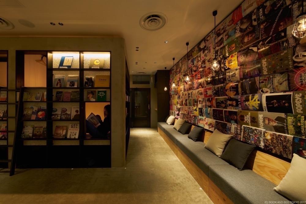 泊まれる本屋「BOOK AND BED TOKYO」の5店舗目が新宿に2018年春オープンその4