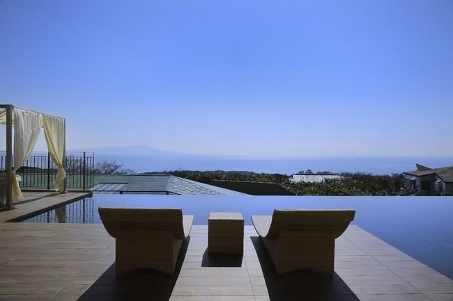 名称を変更してリニューアルした「JPリゾート 伊豆高原」。リゾート気分が味わえる