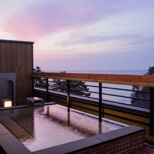 三陸の雄大な景色。「渚亭 たろう庵」の絶景風呂で最高の湯浴みを堪能