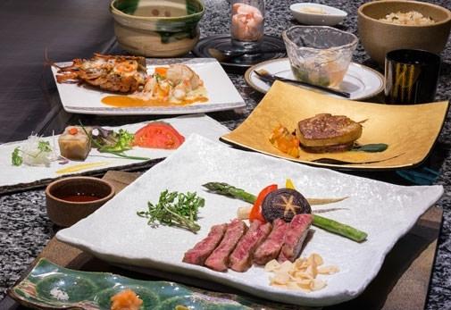 重要文化財で味わう鉄板焼きレストラン「鉄板焼 迎賓館」