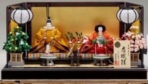 近鉄のひな人形@大阪・あべのハルカス近鉄本店