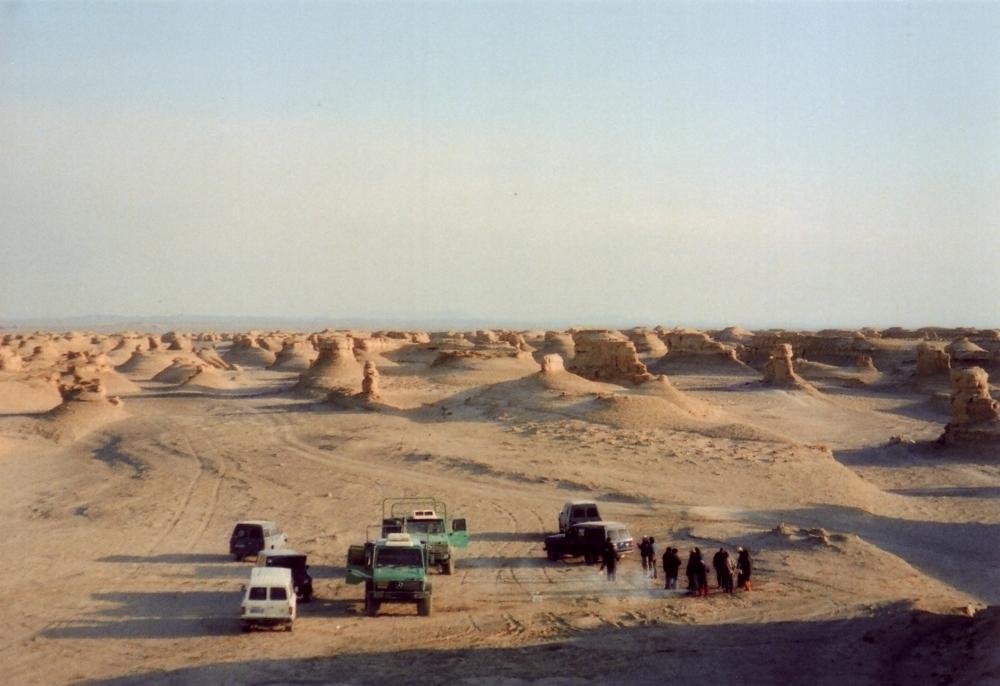 シルクロードで繁栄した都市 楼蘭遺跡(新疆ウイグル自治区)