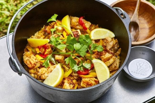 野外でも本格料理が楽々作れる「ソトレシピMEALKIT」