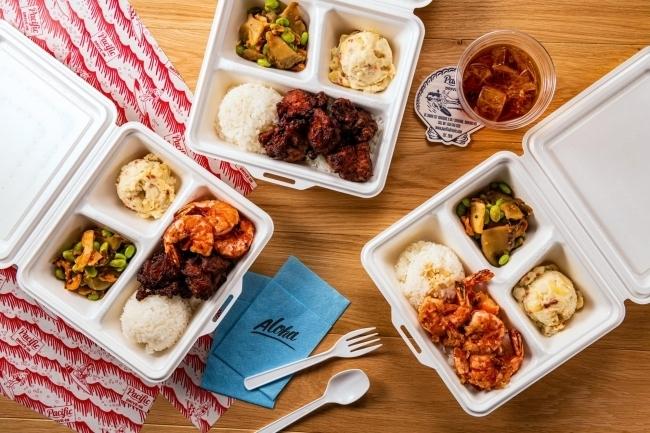 ハワイアンプレートランチの人気店もゴーストレストランとしてオープン