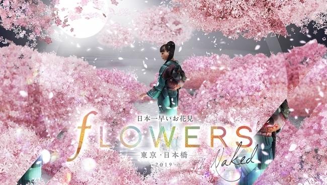 幻想的な世界にどっぷり浸かる「FLOWERS BY NAKED 2019 ー東京・日本橋ー」