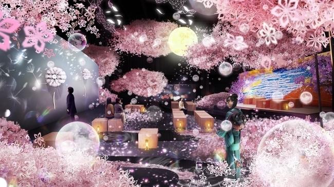 「大桜彩」で日本一早いお花見を