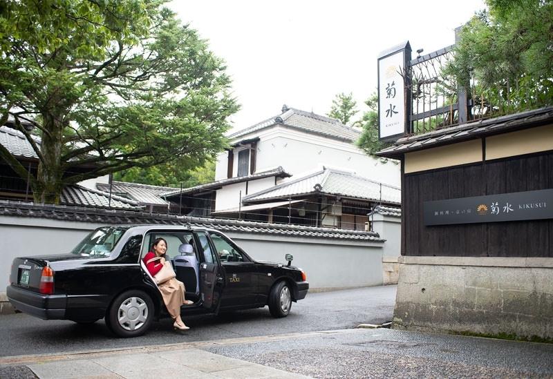 贅沢ポイント①JR京都駅八条口よりタクシーで無料送迎