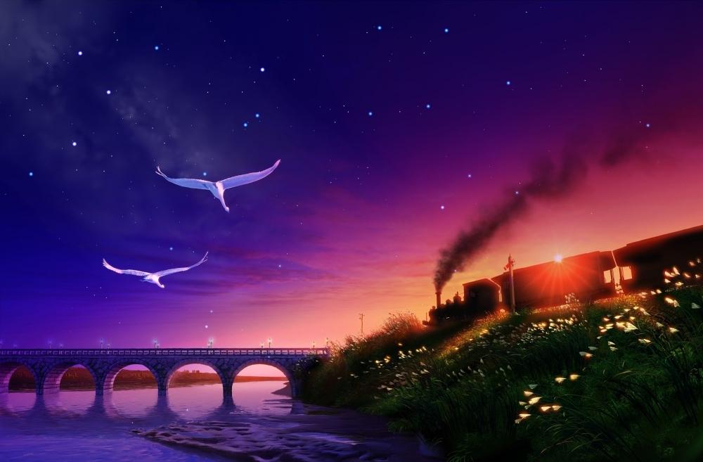 リニューアル記念上映作品は「銀河鉄道の夜」