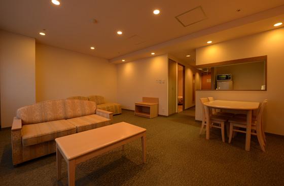 長野県「ホテルアンビエント安曇野」の魅力➂キッチン付きの客室