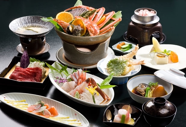 食材の宝庫「能登」の旨味が味わえる贅沢な食事