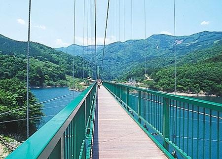 関東のおすすめドライブスポット①もみじ谷大吊橋