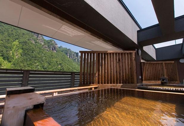 大自然とお風呂に癒される!リーズナブルに宿泊できるホテル「層雲峡 朝陽亭」その4