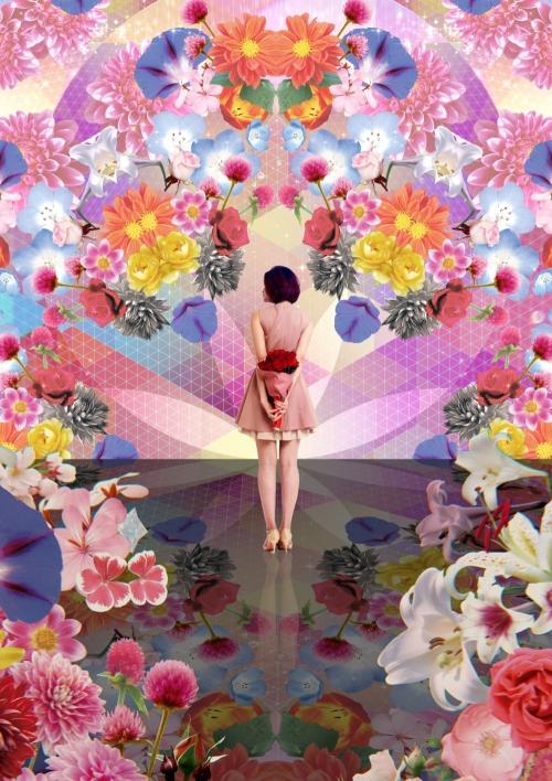 花に包まれた「フラワーファンタジア」