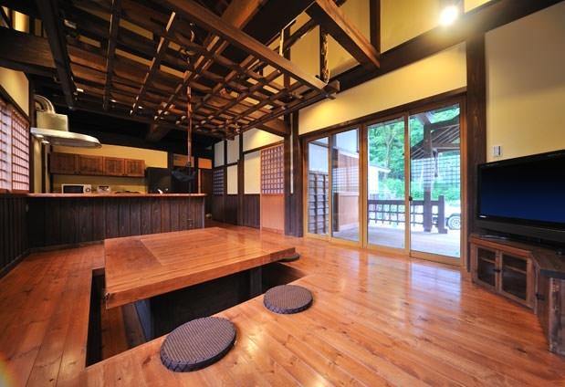 全棟屋根付きバーベキューテラスありの「貸別荘&コテージ オール・リゾート・サービス」