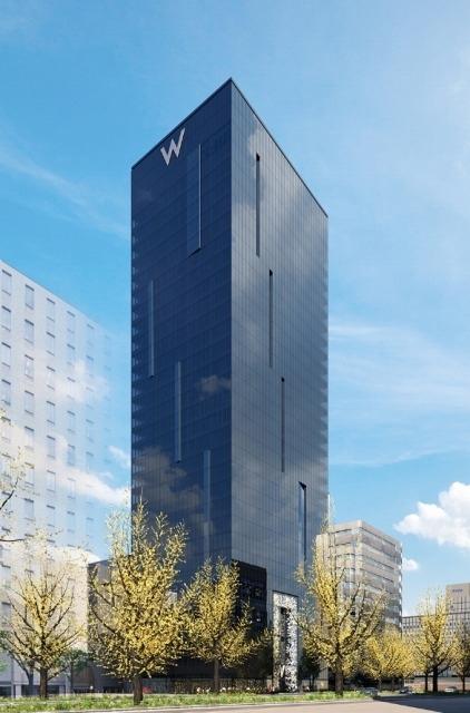 【5】安藤忠雄氏がデザイン監修する日本初進出のラグジュアリー・ライフスタイルホテル「W Osaka」(大阪府)