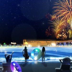 夏の夜が変わる! 大人のための 「ナイトプール」が7月8日スタート!