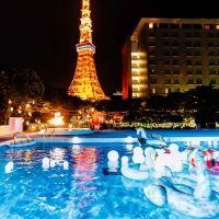 CanCamコラボ!東京プリンスホテルのナイトプールがフォトジェニックだと話題