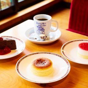 季節限定!コメダ冬の新作ケーキ「チーズスフレ」など3種類が新登場