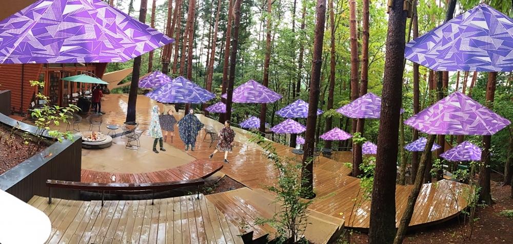 雨の日だってアウトドアは楽しめる! 星のや富士の「雨グランピング」