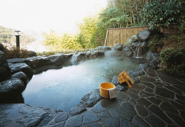 絶景を見られる露天風呂があるおすすめの宿④宙-SORA- 渡月荘金龍