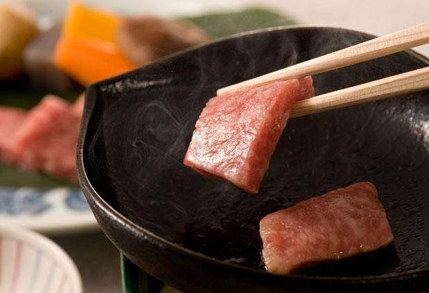 旬の味覚満載の美味しい料理