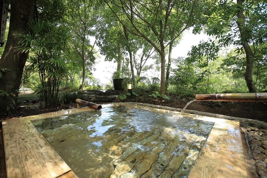 贅沢ポイント③効能豊かな指宿の天然温泉