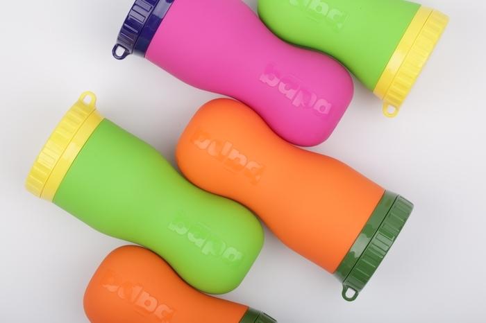 夏アクティビティにぴったりのシリコーンボトル「FlipBotle |bapa|(フリップボトルバーパ)」